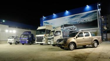 Foton Algérie's commercial vehicle exhibition