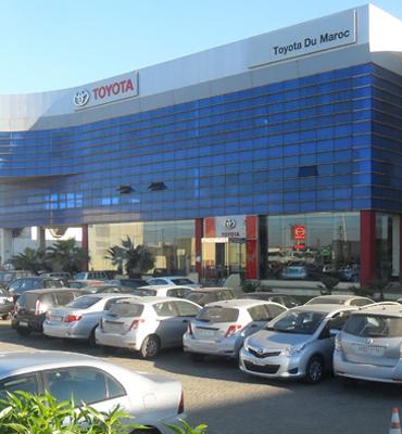 Inicio de la distribución de Toyota en Marruecos
