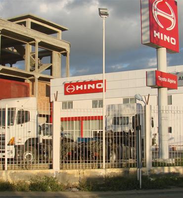 Inicio de la distribución de Hino en Argelia