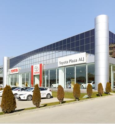 Inicio de la distribución de Toyota en Turquía