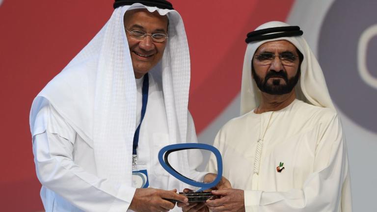 Bab Rizq Jameel wins the Arab Social Media Influencers Award for 2015