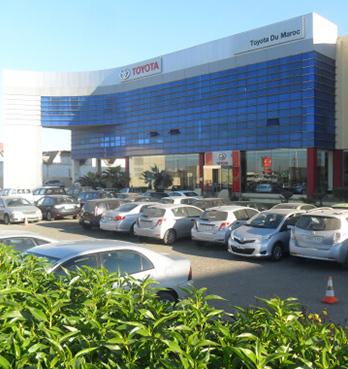 Fas'ta Toyota distribütörlüğü başlatıldı