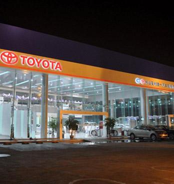 中国にトヨタ自動車の販売店を開設