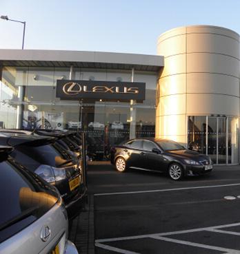 英国でトヨタとレクサスの販売店を開設