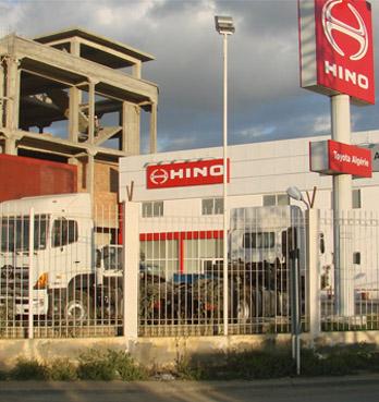 アルジェリアで日野自動車の販売代理権を取得