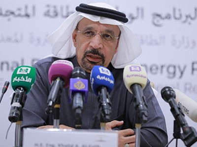 Khalid A Al-Falih-Minister of Energy Industry Mineral Resources