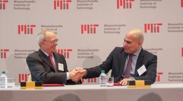 MIT President L. Rafael Reif Fady Mohammed Jameel President of Community Jameel International