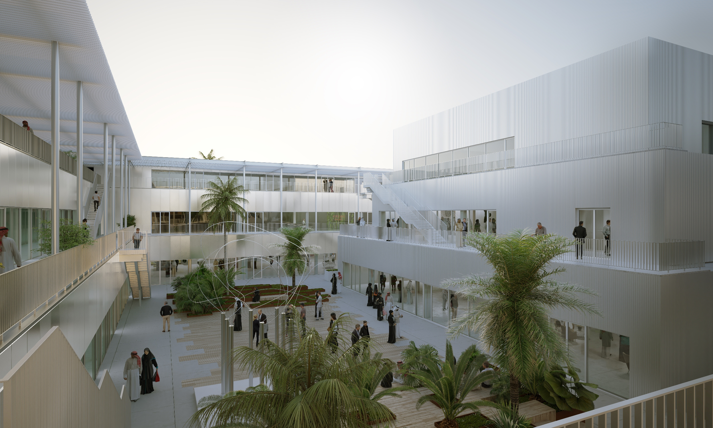 Hayy: Creative Hub es un nuevo e importante complejo creativo para Arabia Saudí
