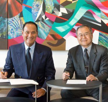 MoU signed with Japanese company Kosei Aluminium - Abdul Latif Jameel®