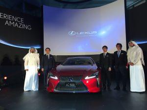 Lexus LC500 in Saudi Arabia - Abdul Latif Jameel®