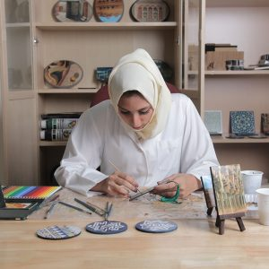 Nafisa Shams Academy for Arts And Crafts supports Saudi Arabian women - Abdul Latif Jameel®