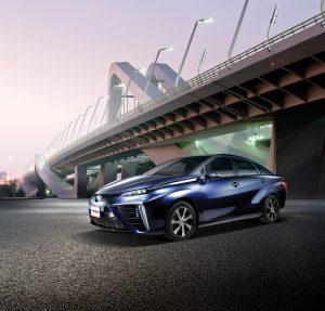 Toyota Mirai Fuel Cell Electric Vehicle in Abu Dhabi - Abdul Latif Jameel®