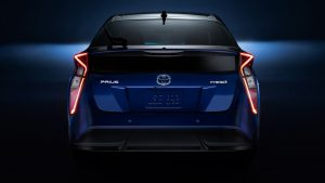 Toyota Prius hybrid electric vehicle in Saudi Arabia - Abdul Latif Jameel®