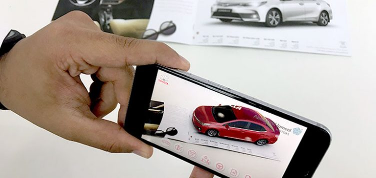Abdul Latif Jameel Motors introduces Augmented Reality through new Toyota Saudi Select mobile app