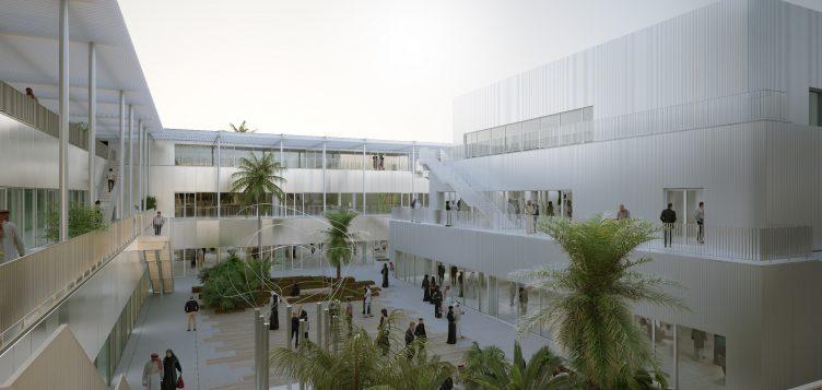 """""""حي: ملتقى الإبداع"""" يفوز بالعديد من الجوائز المعمارية الدولية"""