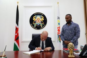 Fady Jameel Signs the Contract for Mombasa's First Large Scale Desalination Contract