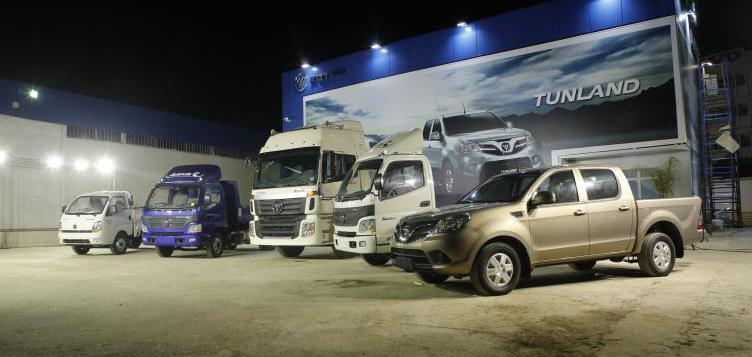 Foton trucks launches in Algeria