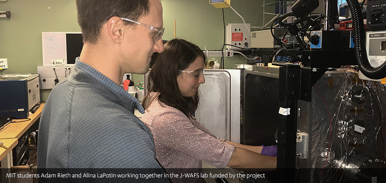 MIT Students Adam Rieth and Alina LaPotin Working Together