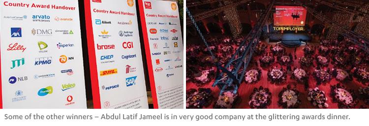 Double award success! Abdul Latif Jameel celebrates awards