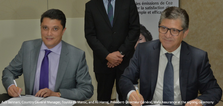 Toyota Du Maroc advances the use of hybrid cars at COP22
