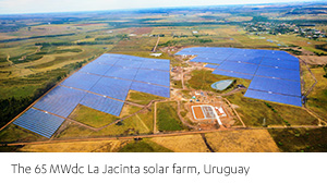 Frvs La Jacinta Solar Plant in Uruguay