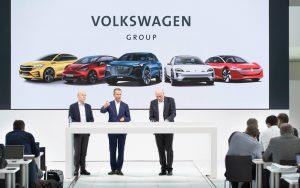 Volkswagen Group plan to launch some 70 electric models in the next 10 years. Photo credit Volkswagen, Frankfurt IAA 2019