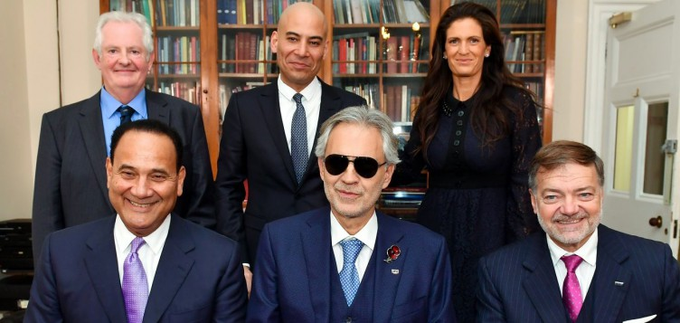 Community Jameel and Andrea Bocelli Foundation launch international scholarship at the Royal College of Music in London