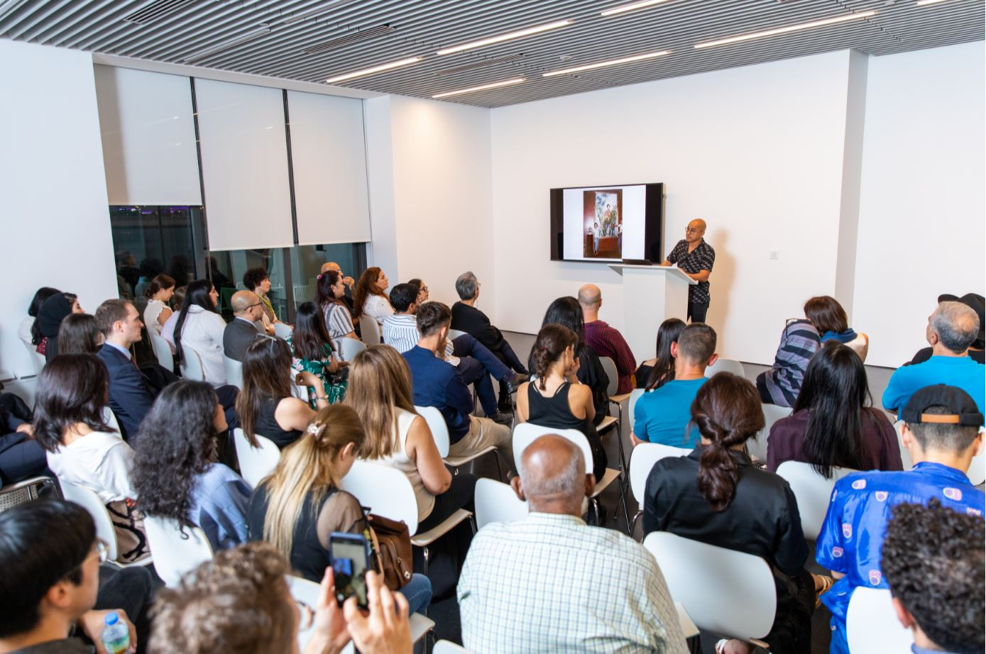 Opening Preview at Jameel Arts Centre