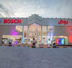 بوش يفتتح المتجر الرئيسي في المملكة العربية السعودية