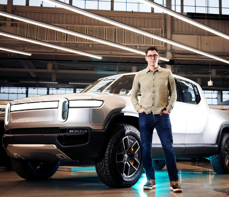 Rivian featured by Forbes magazine