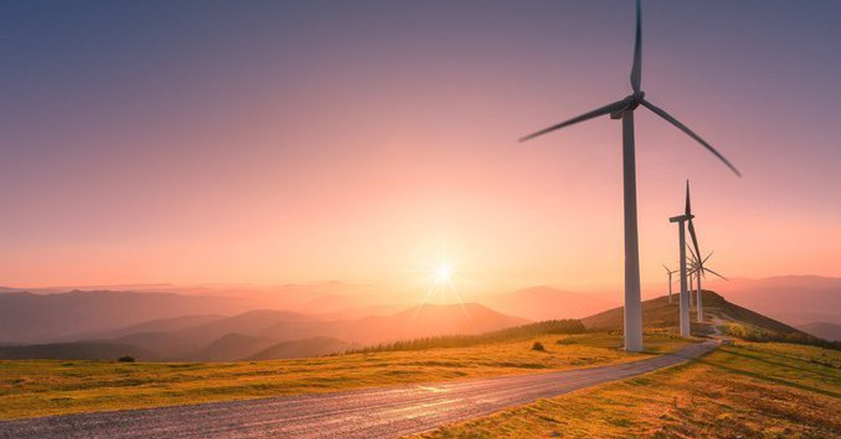 Dönüm noktası yılda tam güç rüzgar enerjisi