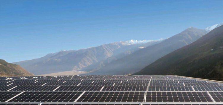 First Solar Power Plant in Armenia