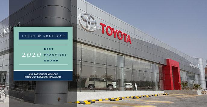 Abdul Latif Jameel Motors Saudi Arabia Wins Best Practice Award