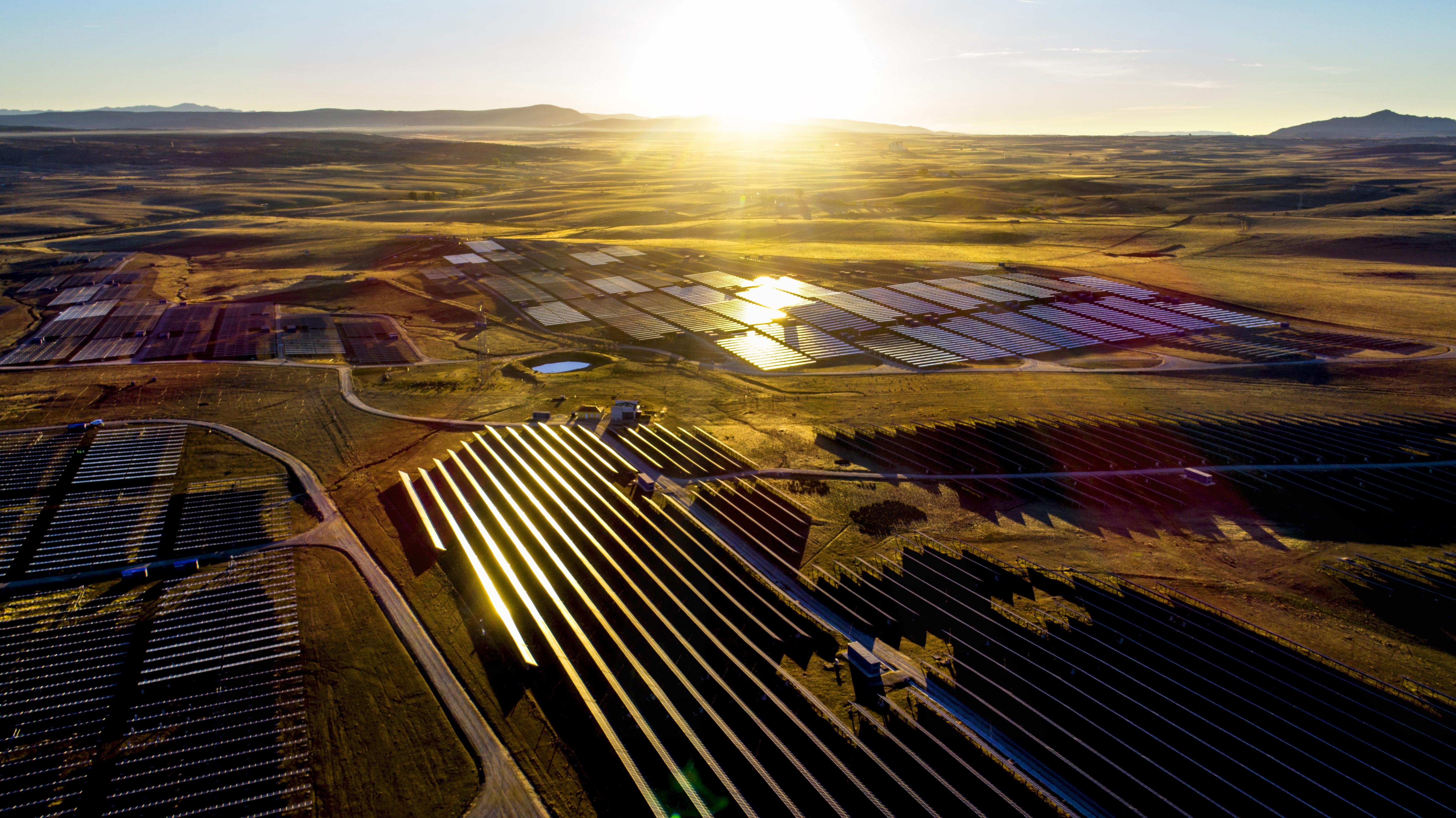 ALJ Energy FRV Madrid Solar Farm