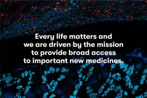 Every life matters and we are driven by the mission to provide broad access to important new medicines - Evelo Biosciences.
