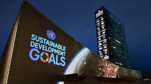 United Nations SDG launch