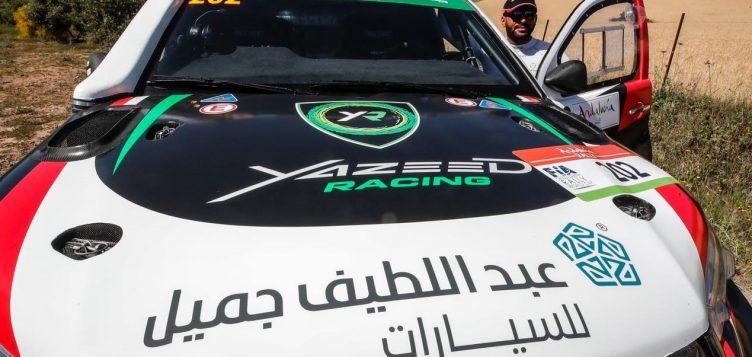 Celebrating Yazeed AlRajhi's successful return to motorsport glory