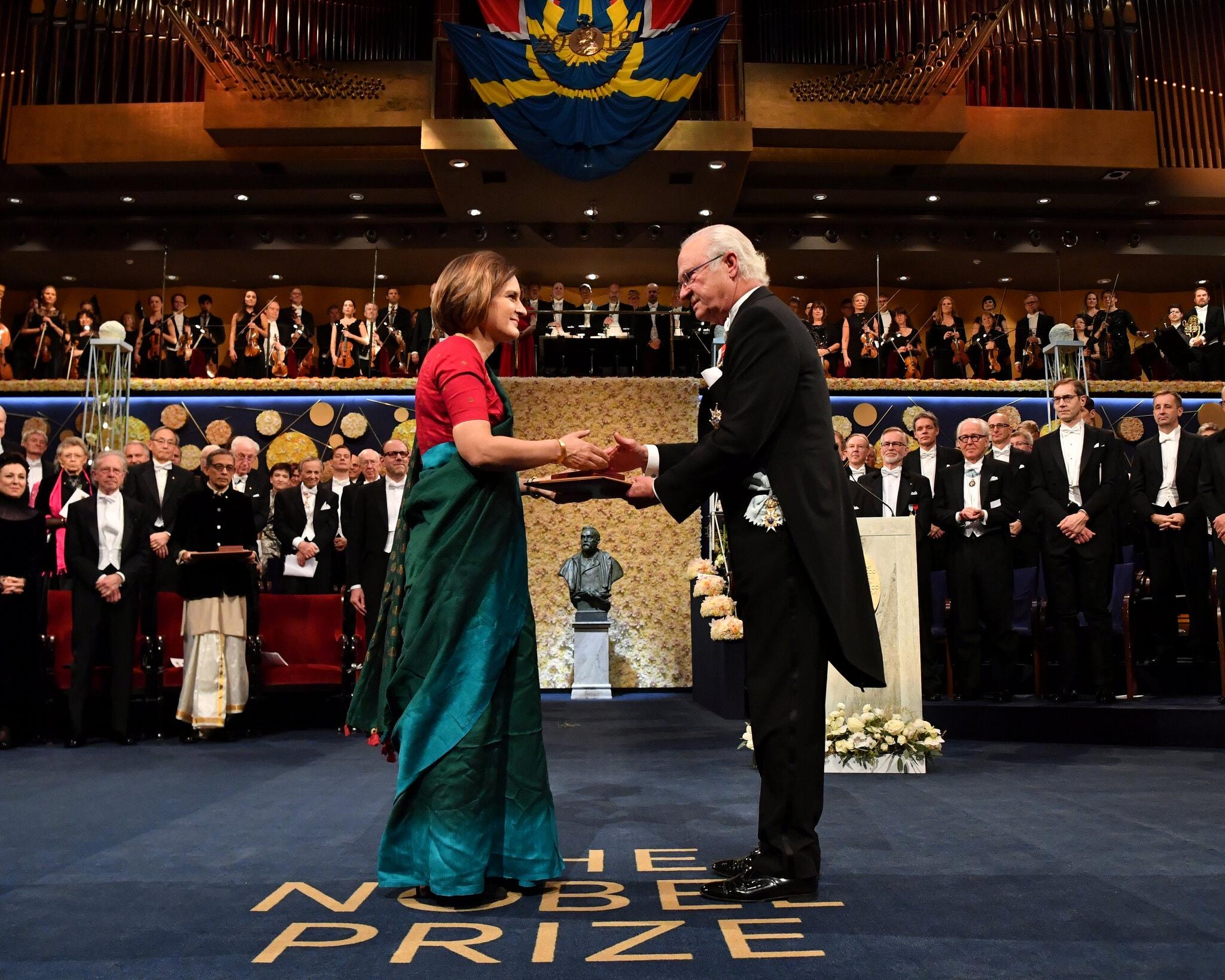 Esther Duflo Nobel Prize