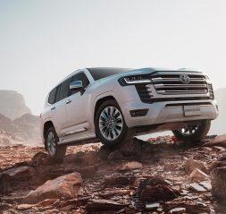 New generation 2022 Toyota Land Cruiser in Saudi Arabia