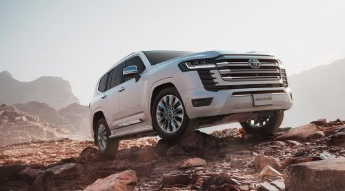 New generation 2022 Toyota Land Cruiser