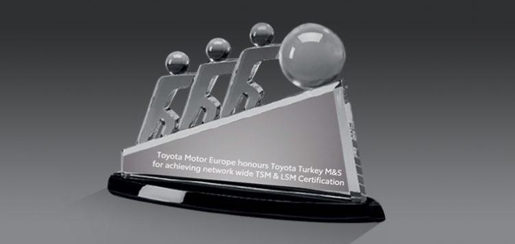 Toyota Turkey wins prestigious award at TSM Kaizen Forum