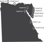 Ridgewood desalination plant locations Egypt