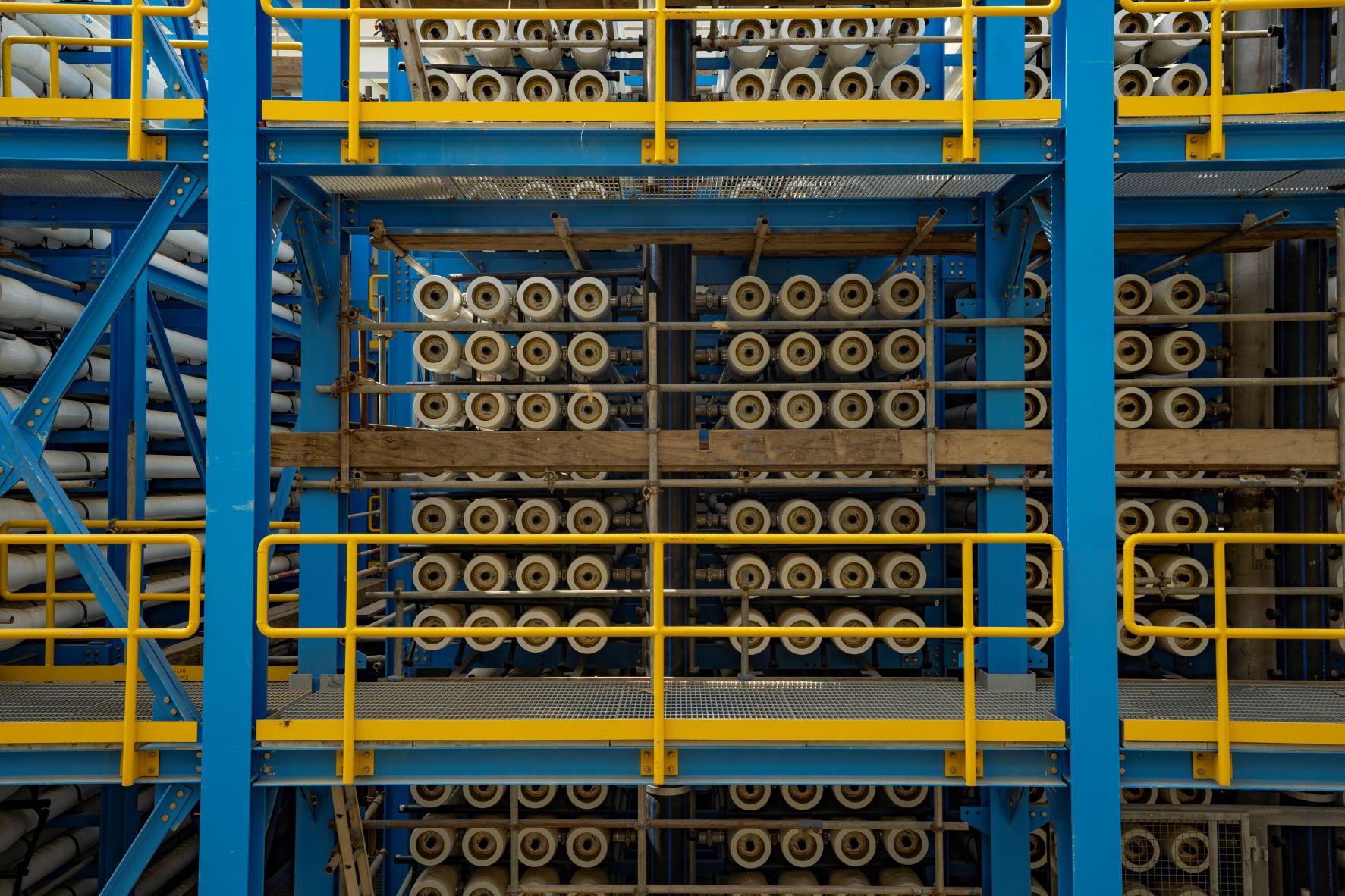 Shuqaiq 3 RO pressure valves