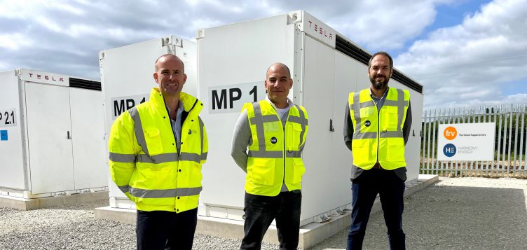 Abdul Latif Jameel Energy's FRV and Harmony Energy launch UK's largest battery storage project with Tesla Megapack in mission to decarbonize Britain's energy grid
