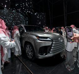World premiere of new Lexus LX in Riyadh